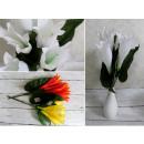 Großhandel Spielwaren: Blumenstrauß aus Glocken, Tassen mit 5 Blumen (Höh