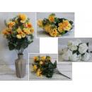 wholesale Decoration: Bouquet of carnations 46 cm mix of colors (12 ...