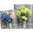 Bouquet d'hortensia 9 fleurs (70x6 cm)