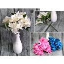 Bouquet d'hortensias 28 cm 5 tiges