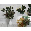 Bouquet di foglie, vari modelli, 9 steli (altezza