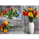 Mazzo di papaveri 14 fiori (altezza 41 cm, fiore 6