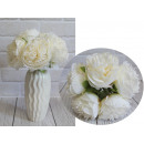 wholesale Home & Living: Bouquet, bunch of peonies 5 flowers (height 30 cm,
