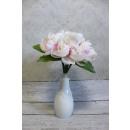 Bouquet di peonie 8 fiori 26 cm