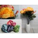 Bouquet di peonie pastello 45 cm, 11 steli di 7 fi