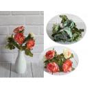 Csokor pasztell árnyalatú pünkösdi rózsa 5 virág (