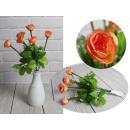 nagyker Dekoráció: Rózsavirág csokor 7 virág (magasság 32 cm, virág 3