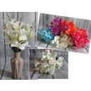 grossiste Décoration: Bouquet  d'orchidées (5  tiges, 20 fleurs, ...