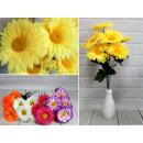 Bouquet di gerbere artificiale 50 cm.7 fiori - mix