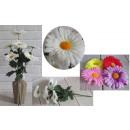 Gerbera artificiale bouquet di 7 fiori (altezza 45