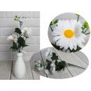 nagyker Otthon és dekoráció: Mesterséges százszorszép csokor 5 virágból ...