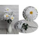 Mazzo di fiori artificiali a margherita di 6 fiori
