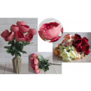 Bouquet di peonia artificiale 9 fiori (altezza 48