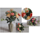 Bouquet di peonie artificiali con molti additivi 1