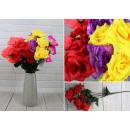 Großhandel Kunstblumen: Künstlicher Strauß - 6 Blüten (insgesamt 50 cm) (1