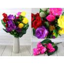 Bouquet künstliche Rosen 60 cm 7 Blüten (Öffnungsd