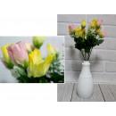 Bouquet de tulipes artificielles 14 fleurs 30 cm