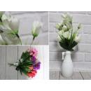 Bouquet de tulipes artificielles 15 fleurs 36 cm,