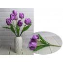Bouquet di tulipani artificiali 7 fiori, altezza 4