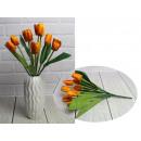 Bouquet di tulipani artificiali 7 fiori, altezza 3