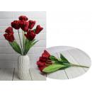Bouquet di tulipani artificiali 9 fiori altezza 42