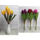 Bouquet artificiale di tulipani 9 fiori (altezza 3