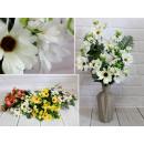 Bouquet artificiale, un mazzo di gerbere con 9 fog