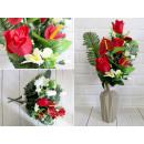 Bouquet artificiale, un mazzo di rose, 9 steli, fo