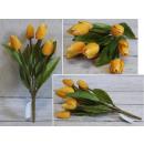 grossiste Décoration: Un bouquet de tulipes 30 cm 9 tiges