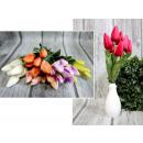 Egy csokor tulipán 7 virág (magassága 40 cm, virág