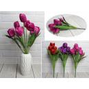 Bouquet di tulipani 9 fiori (altezza 43 cm, fiore