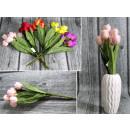 Bouquet di tulipani sviluppato 7 fiori (altezza 38