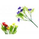 Verde mazzo di fiori steli 28 cm 5