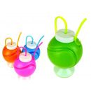 wholesale Balls & Rackets: Bottle plastic on  the foot ball 10x15 cm