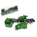 grossiste Modeles et vehicules: Camion militaire avec 2 véhicules de l'armée 4