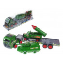 wholesale Models & Vehicles: Military truck with 2 army vehicles 55x12x17