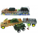 wholesale Toys: A military truck,  military trailer and 2 front