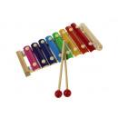 groothandel Speelgoed: 8-ton hout-metaal bekkens + 2 24x12 sticks