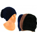 wholesale Headgear: Women's / men's cap knitted with a ...