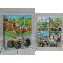 Sacchetto regalo D per veicoli bambino 32x26x12 cm