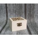 grossiste Bricoler et dessiner: Coffret à découper carré bois 8x8x