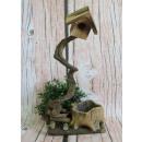 grossiste Plantes et pots: Couverture en céramique de décoration en bois ...