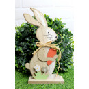 Fa húsvéti dekoráció, mérete 30x14x5 cm
