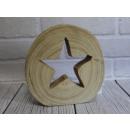 Decorazioni natalizie legno placcato taglio 17 cm