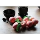 Dekoratív mesterséges gyümölcs őszibarack 8 darab