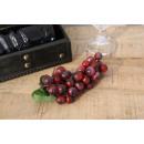 nagyker Dekoráció: Dekoratív szőlőfürt 18 cm 45 golyó