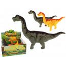 Großhandel Spielzeug: Dinosaurier mit langem Hals 24 cm Batterien - 1 St
