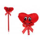 mayorista Boligrafos y lapices: Corazón de la mascota de la pluma con una cara ...
