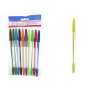 Penne insieme di 10 colorato arte tradizionale