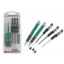 A tollkészlet 3 gélt tartalmaz + 2 hagyományos bub